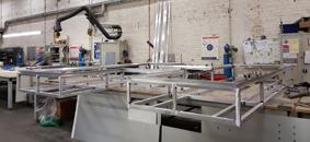 chassis, aluminium, enseigne